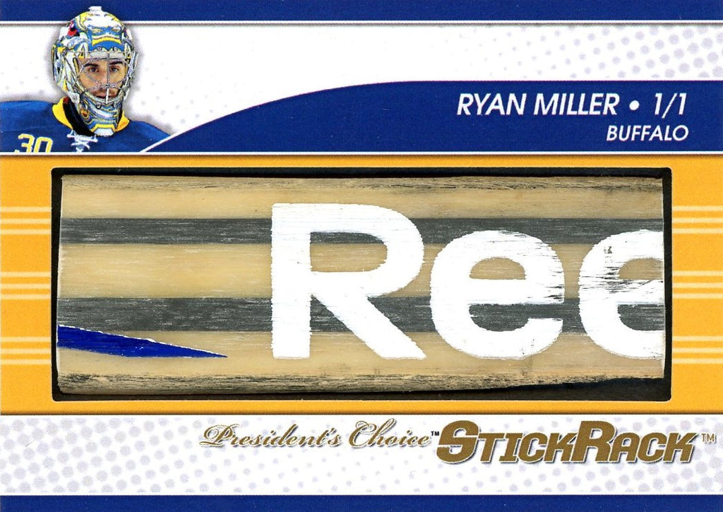 Ryan Miller StickRack 1/1