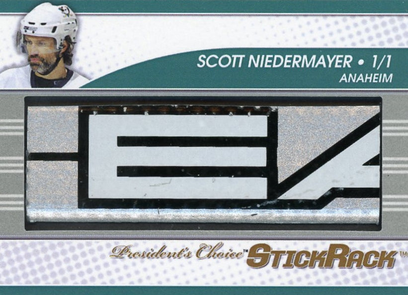 Scott Niedermayer StickRack 1/1