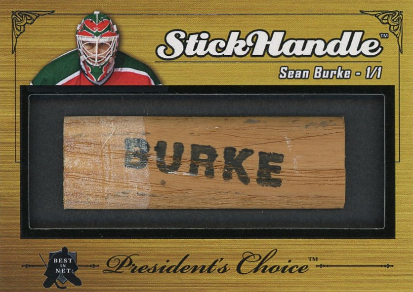 Sean Burke StickHandle 1/1