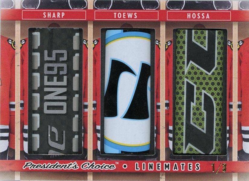 Sharp, Toews, Hossa LineMates /3