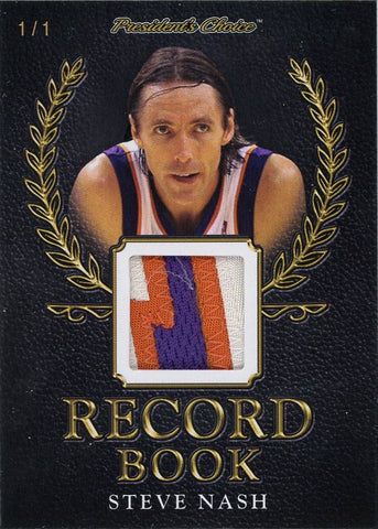 Steve Nash Record Book 1/1