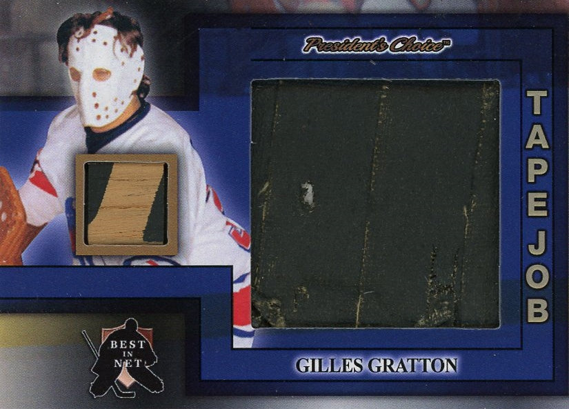 Gilles Gratton Tape Job /3
