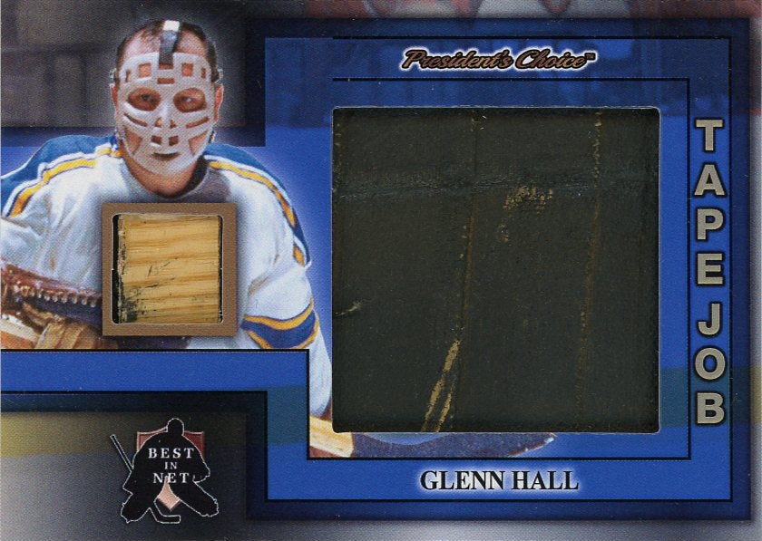 Glenn Hall (St. Louis) Tape Job /3