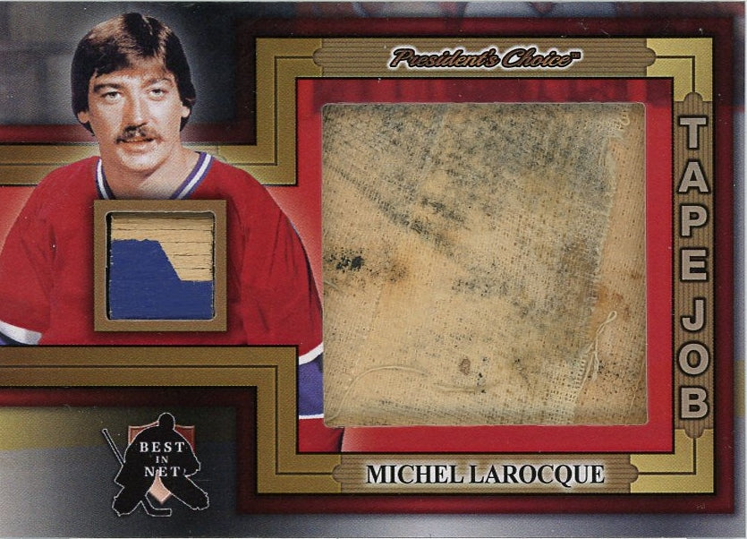 Michel Larocque Tape Job /3