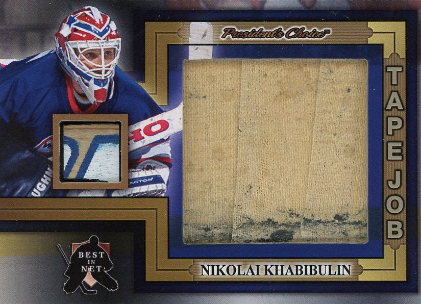 Nikolai Khabibulin Tape Job /3