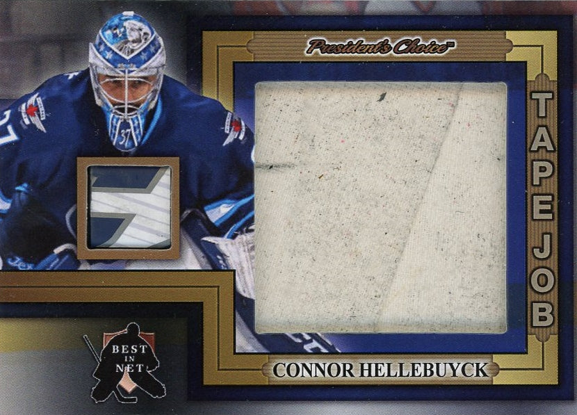 Connor Hellebuyck Tape Job /3