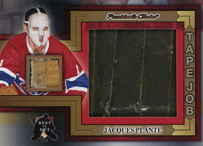 Jacques Plante (Montreal) Tape Job /3
