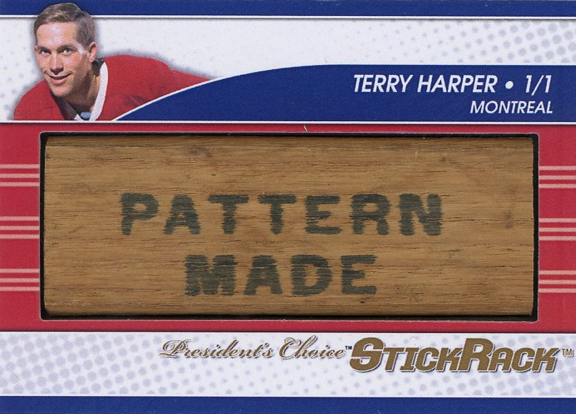 Terry Harper StickRack 1/1