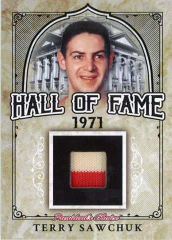 Terry Sawchuk Hall of Fame 1/1