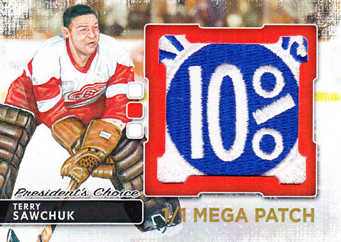 Terry Sawchuk MegaPatch 1/1