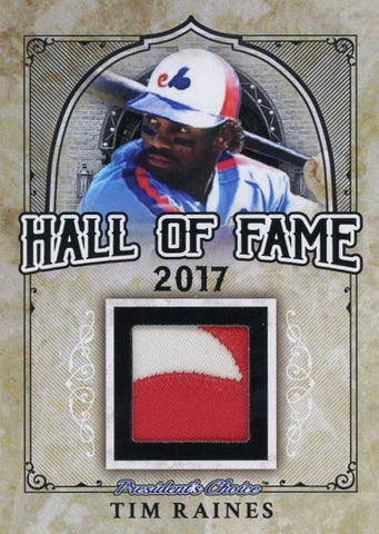 Tim Raines Hall of Fame 1/1