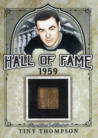 Tiny Thompson Hall of Fame 1/1