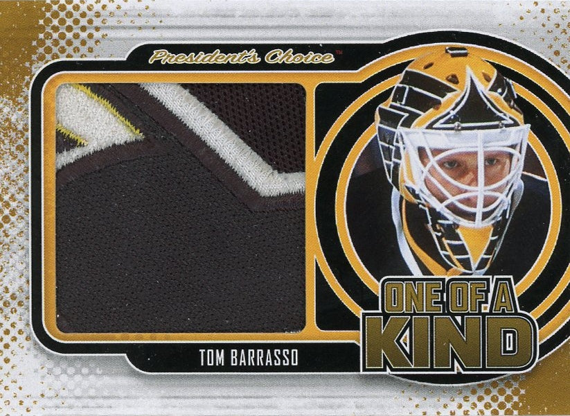 Tom Barrasso One of a Kind 1/1