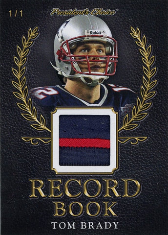 Tom Brady Record Book 1/1