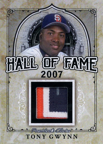 Tony Gwynn Hall of Fame 1/1