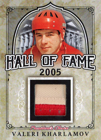 Valeri Kharlamov Hall of Fame 1/1