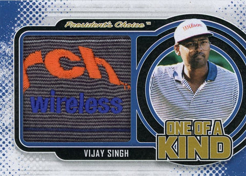 Vijay Singh One of A Kind 1/1
