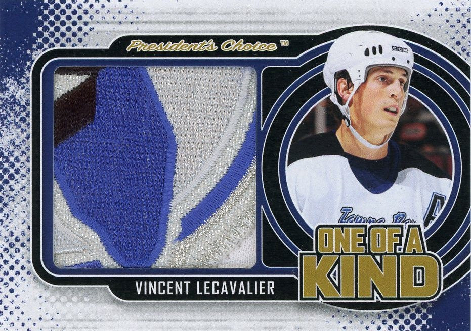 Vincent Lecavalier One of A Kind 1/1
