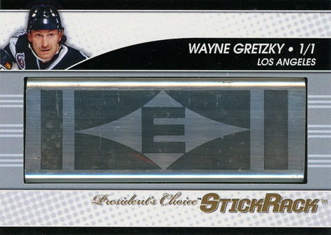 Wayne Gretzky (Los Angeles) StickRack 1/1