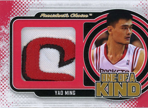 Yao Ming One of A Kind 1/1