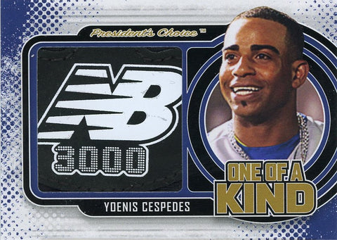 Yoenis Cespedes One of a Kind 1/1