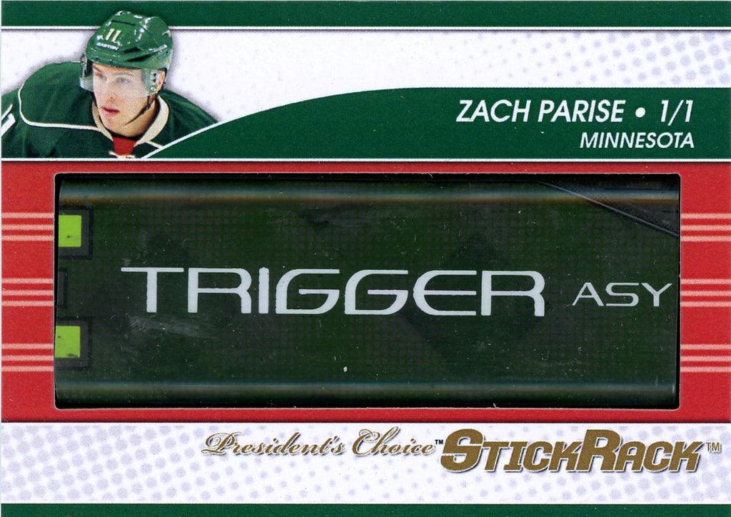 Zach Parise StickRack 1/1