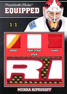 Mikka Kiprusoff 1/1 Equipped