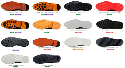 shoe sole options