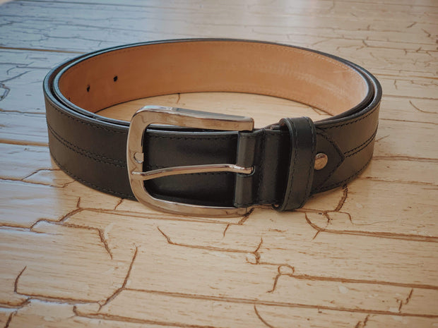 Anatoly's Belts Black Marseille Belt