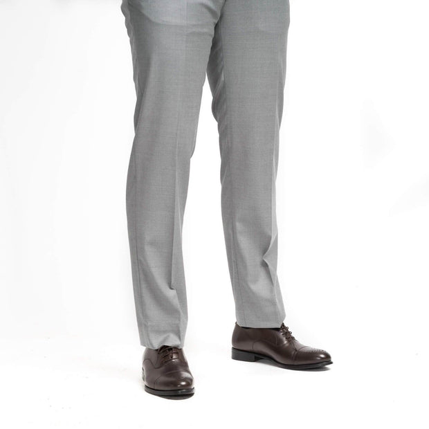 Anatoly's Trousers Light Grey Loro Piana Trousers
