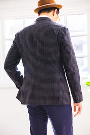 Anatoly & Sons Sport Coats Grey Check Loro Piana Jacket