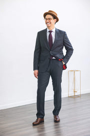 Anatoly & Sons Suits Grey Drago Suit