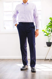 Anatoly & Sons Trousers Blue Holland & Sherry Trousers