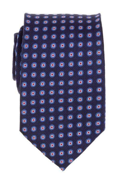 Bocara Tie Regular Blue Patterned Tie