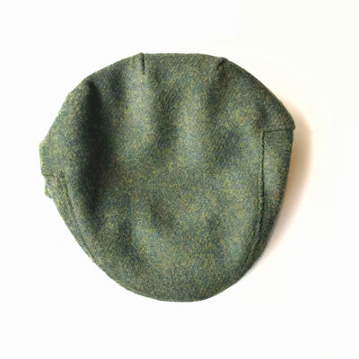 John Hanly Caps Tweed Green Driver Cap