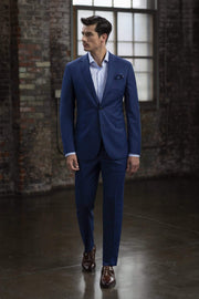 MaxMan Suits Baroni Sharkskin Suit