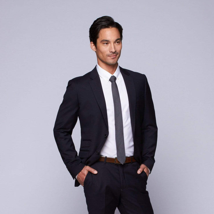 MaxMan Suits Trend Navy Suit