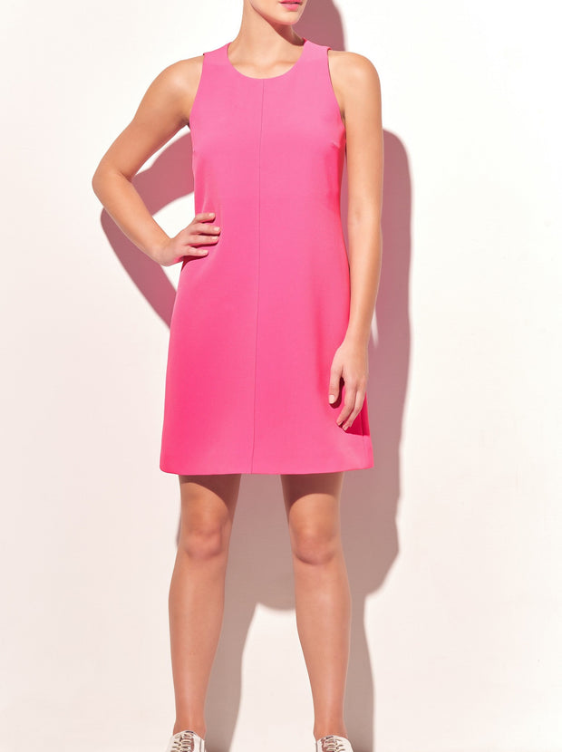 HotPink A Line Shift Dress