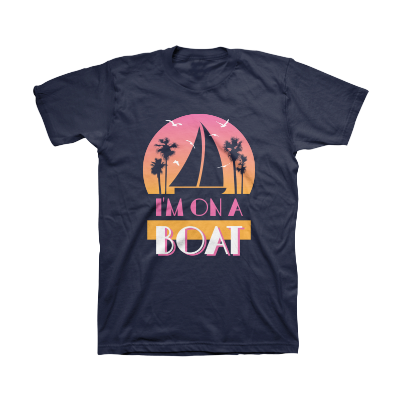 I'm On A Boat Tee - The Lonely Island