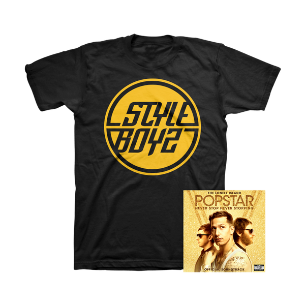 Popstar: Never Stop Never Stopping Soundtrack + Tee - The Lonely Island - 1