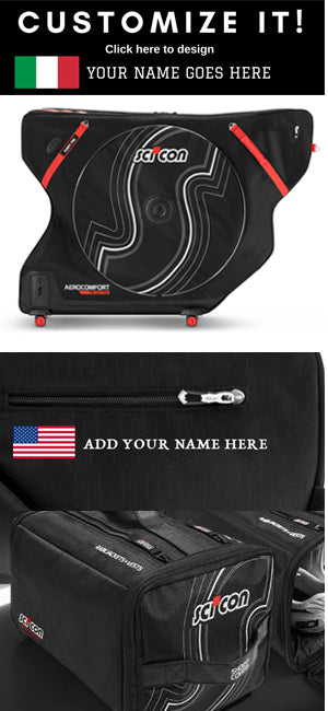 Scicon Bags USA - Personalize Your Bag
