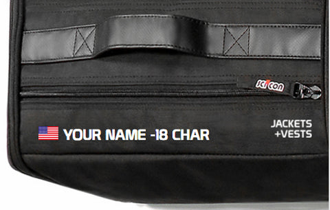 Customize Name on bag