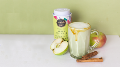 CARAMEL APPLE MATCHA LATTE RECIPE