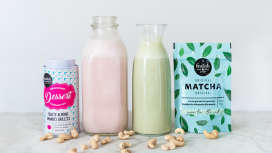 TEA-INFUSED CASHEW MYLK