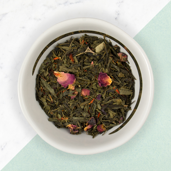 ORGANIC SAKURA CHERRY ROSE<br><span>Green Tea</span>