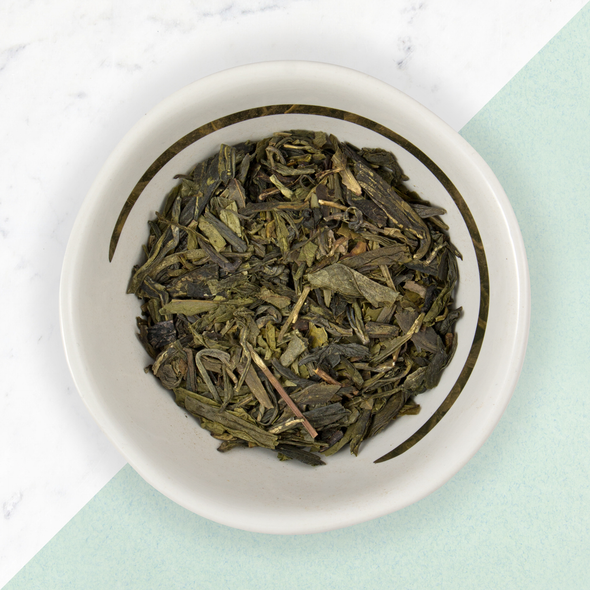 LUNG CHING<br><span>Green Estate Tea</span>