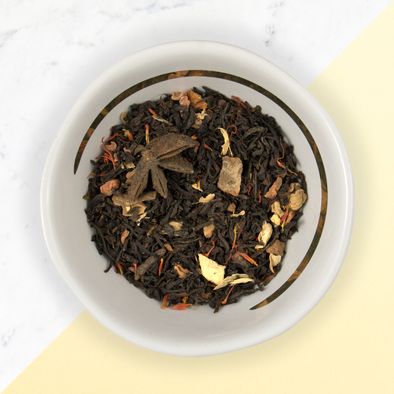 PUMPKIN CHAI<br><span>Black Tea</span>