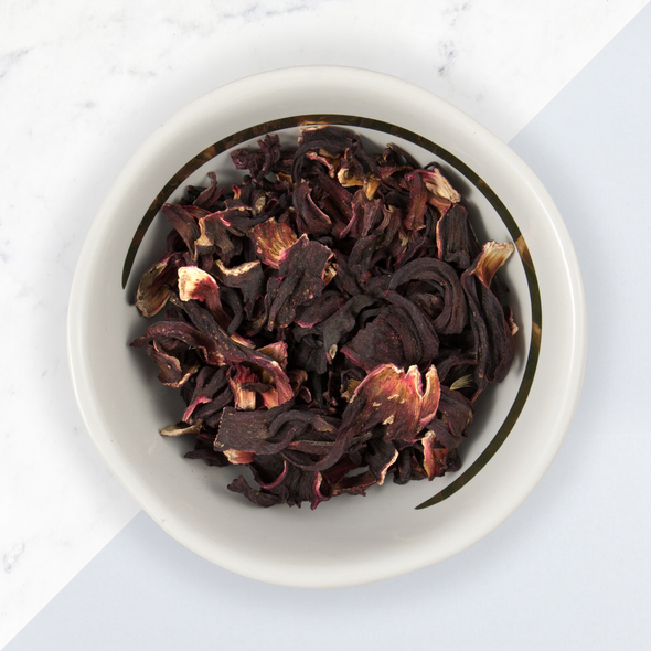 HIBISCUS<br><span>Herbal Tea</span>