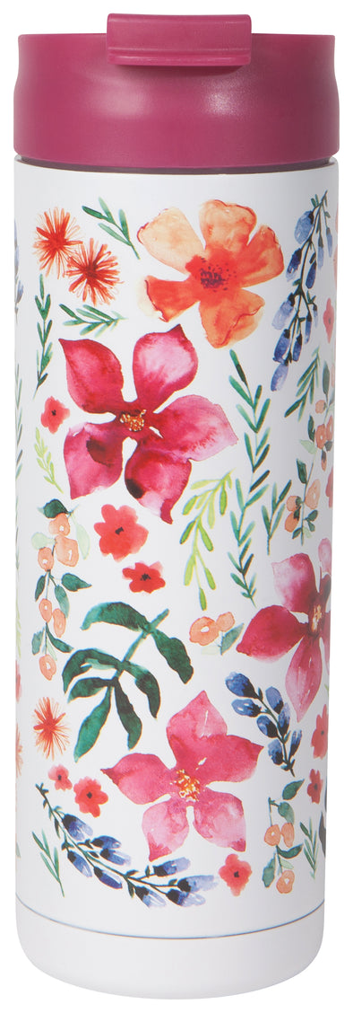 FLORAL TRAVEL MUG<br><span>Danica Studio</span>