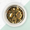AM Detox Green Tea Loose Leaf Tea, bright citrus
